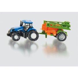 Siku New Holland tractor met veldsproeier