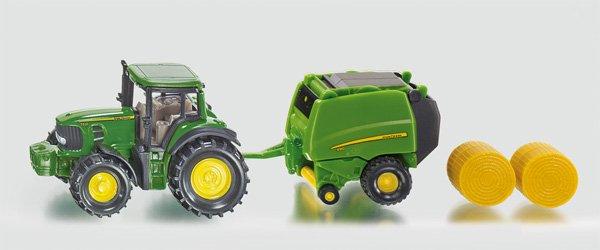 Siku John Deere Tractor Met Balenpers T Toys Dirksland