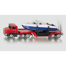 Siku Dieplader met speedboot