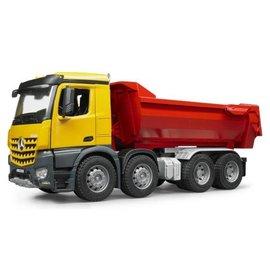 Bruder BF3623 - MB Arocs Halfpipe dump truck