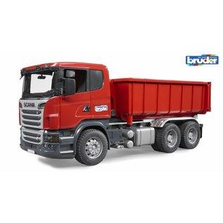 Bruder Scania vrachtwagen met afzetcontainer