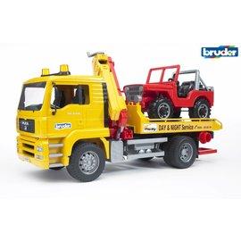 Bruder BF2750 - Takelauto met jeep