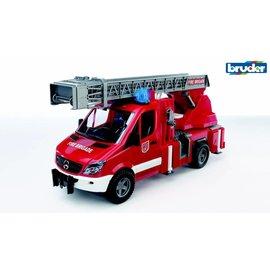 Bruder BF2532 - Mercedes Benz Sprinter brandweer ladderwagen