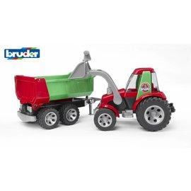 Bruder BF20116 - Tractor met voorlader en aanhanger