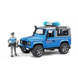 Bruder BF2597 - Landrover Defender Stationwagen - Politie
