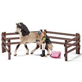 Schleich Andalusier Paarden verzorgingsset - 42270