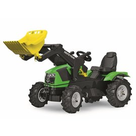 Rolly Toys Farmtrac Deutz-Fahr met voorlader en luchtbanden