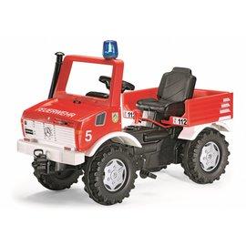 RollyToys Farmtrac Unimog brandweer truck