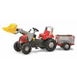 Rolly Toys Rolly Junior RT met aanhanger en voorlader - 811397