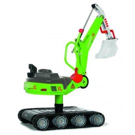 Rolly Toys Rolly Digger XL op rupbanden
