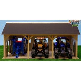 Kids Globe Tractorloods voor 3 tractoren (1:16/Bruder