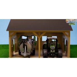 Kids Globe Tractorloods voor 2 tractoren (1:16/Bruder