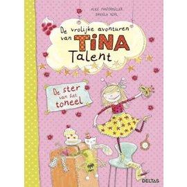 Boeken DT342723 - De vrolijke avonturen van Tina Talent - De ster van het toneel