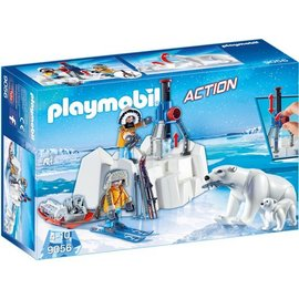 Playmobil pl9056 - Poolreizigers met ijsberen