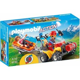Playmobil pl9130 - Reddingsquad met draagberrie