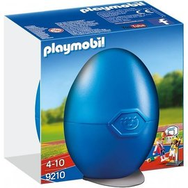 Playmobil pl9210 - Basketballers met ring in Ei