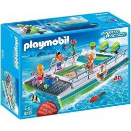 Playmobil pl9233 - Glasboot met onderwatermotor