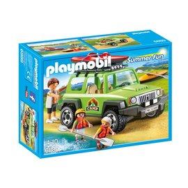 Playmobil pl6889 - Familieterreinwagen met kajaks