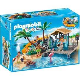 Playmobil pl6979 - Vakantie-eiland met strandbar