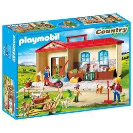 Playmobil pl4897 - Meeneem boerderij