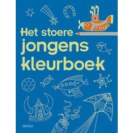 Boeken DT690715 - Het stoere jongens kleurboek