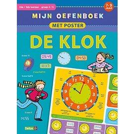 Boeken DT644820 - Mijn oefenboek met poster - De klok (7-9 j.)