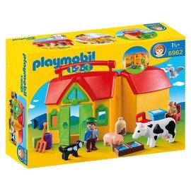 Playmobil Meeneemboerderij met dieren