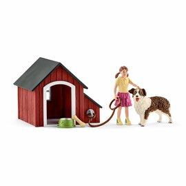 Schleich Hondenkennel - 42376