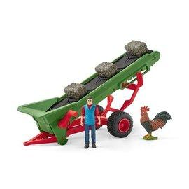 Hooi transportband met boer - 42377