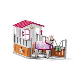 Schleich Paardenbox met Lusitano merrie - 42368