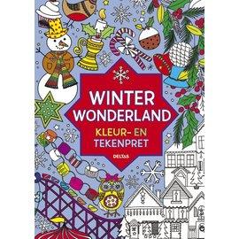 Boeken DT690723 - Winter Wonderland Kleur- en tekenpret