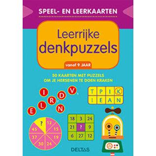 Boeken DT611241 - Speel- en leerkaarten - Leerrijke denkpuzzels (vanaf 9 jaar)