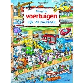 Boeken DT580674 - Mijn grote voertuigen kijk- en zoekboek