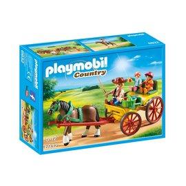 Playmobil pl6932 - Paard en wagen