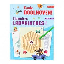 Boeken DT602880 - Coole doolhoven
