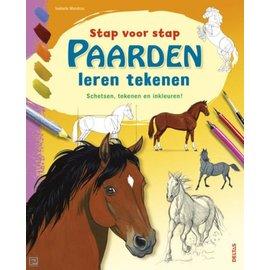 Boeken Stap voor stap - Paarden leren tekenen