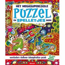 Boeken DT603028 - Het megasupercoole puzzel- en spelletjesboek