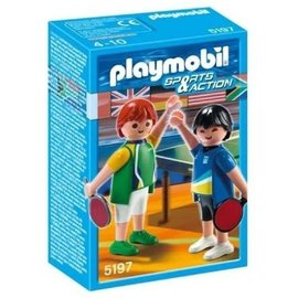 Playmobil pl5197 - Tafeltennisspelers