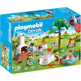 Playmobil pl9272 - Familiefeest met barbecue