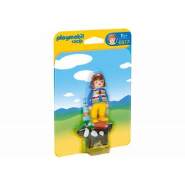 Playmobil pl6977 - Vrouw met hond