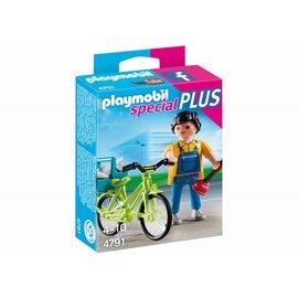 Playmobil pl4791 - Klusjesman met fiets