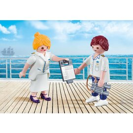 Playmobil pl9216 - Steward en Stewardess