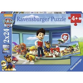 Ravensburger PU90853 - Hulpvaardige speurneuzen PAW 2 x 24 stukjes