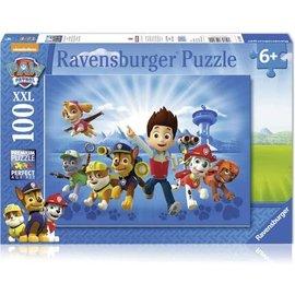 Ravensburger PU108992 - De ploeg van Paw Patrol 100 stukjes