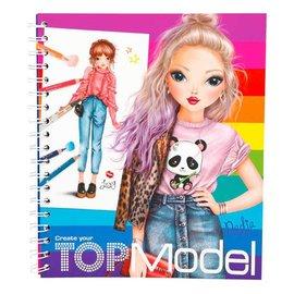 Depesche  5028 -  Top Models Kleurboek Create Your Top Model