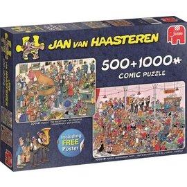 Jumbo PU19058 - Feestje! 500 & 1000 stukjes