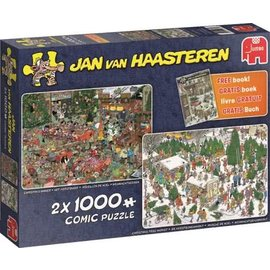 Jumbo PU19061 - Het Kerstdiner & De kerstbomenmarkt 2 x 1000 stukjes