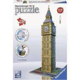 Ravensburger PU125548 - Big Ben, 3D puzzel gebouw 216 stukjes