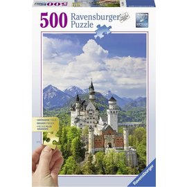 Ravensburger PU136810 - Neuschwanstein 500 stukjes