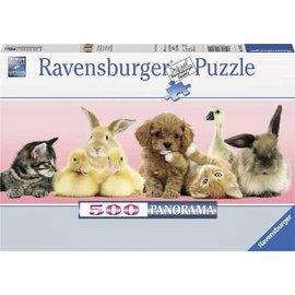 Ravensburger PU148011 - Dierenvrienden 500 stukjes